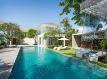 Villa Canggu South, Piscine et jardin